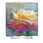 Pastelacious Rose Shower Curtain