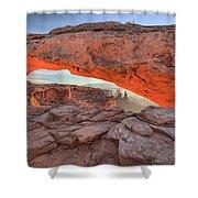 Pastels At Canyonlands Shower Curtain