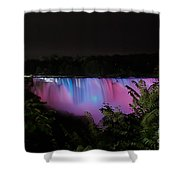 Pastels At Night Shower Curtain