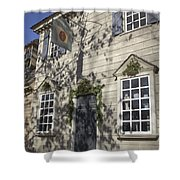 Pasteur And Galt Apothecary Williamsburg Virginia Shower Curtain