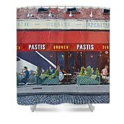 Pastis Shower Curtain by Anthony Butera