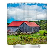 Pastoral Ontario 2 Shower Curtain