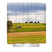 Pastoral Pennsylvania Shower Curtain