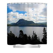 Pastoral Scene By The Ocean Shower Curtain