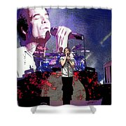 Pat Monahan Of Train Shower Curtain