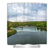 Patagonia Lake State Park Shower Curtain