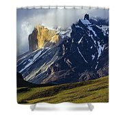 Patagonia Magical Space Shower Curtain