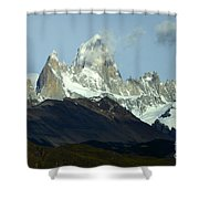 Patagonia Mount Fitz Roy 1 Shower Curtain