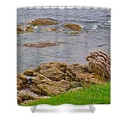 Patch Reefs At Point Amour In Labrador Shower Curtain