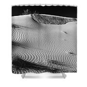 Patches In The Dunes Shower Curtain