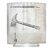 Patent - Fire Axe Shower Curtain