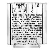 Patent Medicine, C1900 Shower Curtain