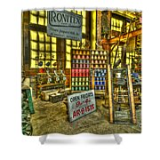 Paterson Silk Mill Shower Curtain