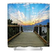 Path 2 Shower Curtain