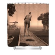 Path In Life Shower Curtain by Bob Orsillo