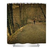 Path Iv Shower Curtain