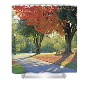 Path Of Change Shower Curtain