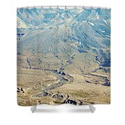 Path Of Destruction Shower Curtain