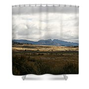 Path Of The Pioneers - Split Rock - Jeffrey City - Wyoming Shower Curtain