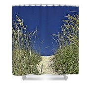 Path Through The Dunes Shower Curtain