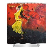 Path To Ascension Shower Curtain