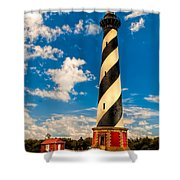 Path To Cape Hatteras Light Shower Curtain