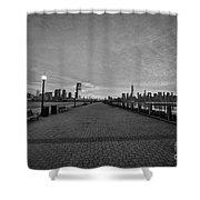 Path To Manhattan Shower Curtain