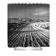 Path To The Point. Shower Curtain
