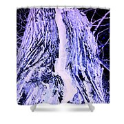 Path To The Sky -inverted Shower Curtain