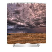 Path To The Storm Shower Curtain