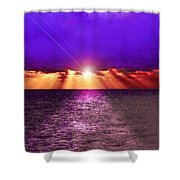 Path To The Sun Shower Curtain
