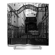 Pathe French Film School Shower Curtain