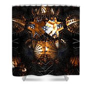 Paths Of Pain Shower Curtain