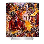 Pathway To Color Shower Curtain