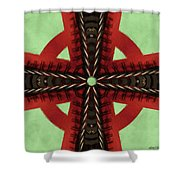 Pathway To Knowledge Shower Curtain by Jeff Kolker