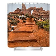 Pathway To Portals Shower Curtain