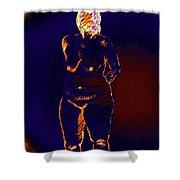 Patient Woman Shower Curtain