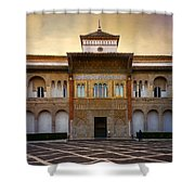 Patio De La Montaria II Shower Curtain