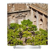 Patio De Los Naranjos Of Seville Cathedral Shower Curtain