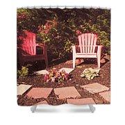 Patio Garden Shower Curtain