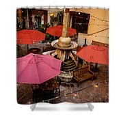 Patio Unbrellas Shower Curtain