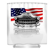Patriotic Hudson 1952 Shower Curtain
