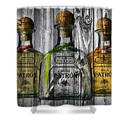 Patron Barn Door Shower Curtain