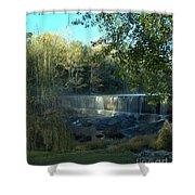Patsiliga Creek Falls Shower Curtain