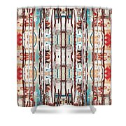 Pattern 2 Shower Curtain