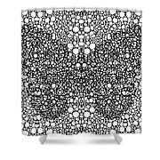 Pattern 35 - Intricate Exquisite Butterfly Pattern Art Prints Shower Curtain