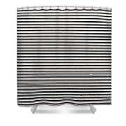 Pattern - Corrugated Metal Shower Curtain