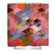 Pattern Of Triangle Shower Curtain