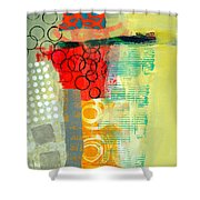 Pattern Study #3 Shower Curtain