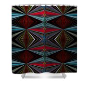Patterned Abstract 2 Shower Curtain